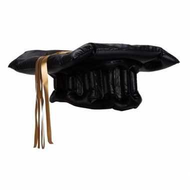 Opblaasbare studenten hoed